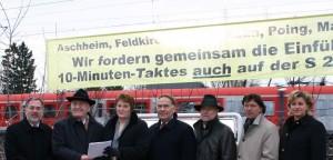 10-Minuten Takt, S-Bahn München, S-Bahn-Bündnis Ost, Kronawitter, Hingerl